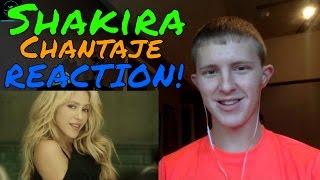 Shakira - Chantaje ft. Maluma REACTION!