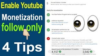 how to enable YouTube monetization | update YouTube monetization kaise kare