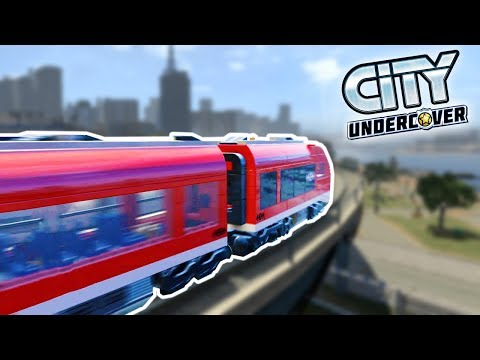 Lego City Undercover | DRIVING TRAINS & CAVES! | Lego City Undercover HD Gameplay - FREE ROAM Part 6