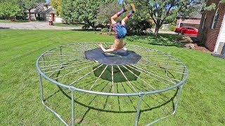THE SCARIEST TRAMPOLINE EVER MADE!!