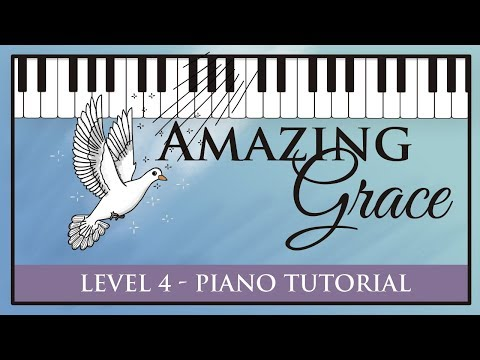 Amazing Grace - How to Improvise Piano Accompaniment - Intermediate Tutorial - Hoffman Academy