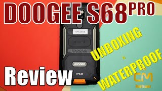 DOOGEE S68 Pro Deep Unboxing & Waterproof: Helio P70 Outdoor Sma...