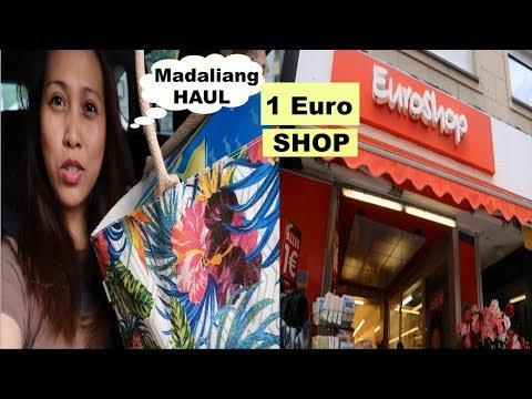 ONE EURO SHOP SA GERMANY | MADALIANG HAUL