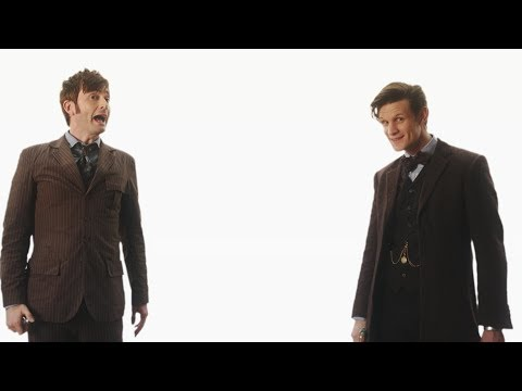 Doctor Who 50th Anniversary Cinema Intros: Strax & The Doctors