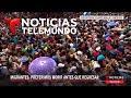 Hondureños presionan para cruzar a México | Noticiero