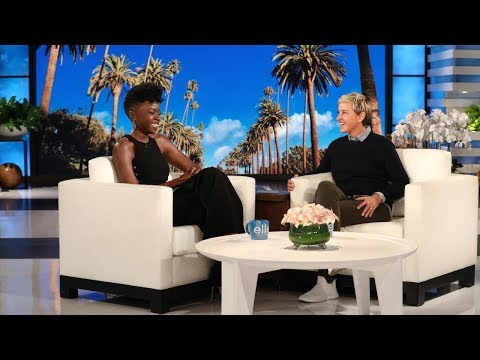 Danai Gurira reveals the Reason for her Recent visit to Lagos on 'The Ellen Show' | WATCH