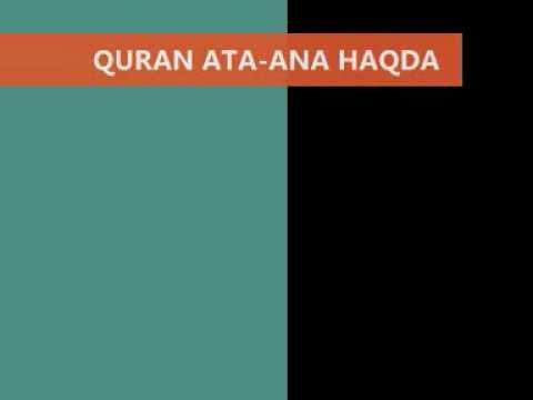 QURAN Ata-Ana Haqda