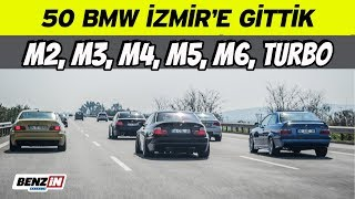 50 BMW toplandık, İzmir'e piste gittik | BMW Car Club Turkey İzmir gezisi | VLOG