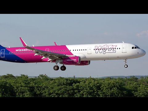 DONCASTER AIRPORT (UK) WIZZAIR PHOTO MOVIE, TO VILNIUS, CAPITAL OF LITHUANIA