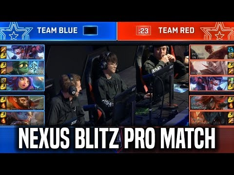 Nexus Blitz Pro Match All-Star ft Faker, Uzi, Licorice, Broken Blade, Tyler1 & More!