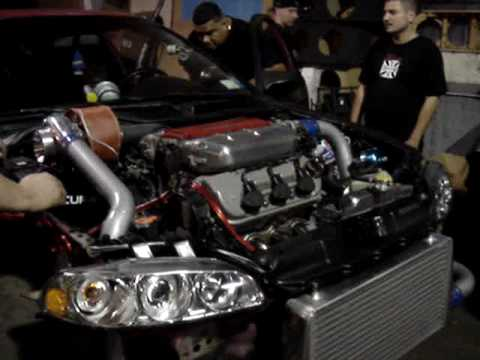 rpm systems honda civic  turbo built youtube