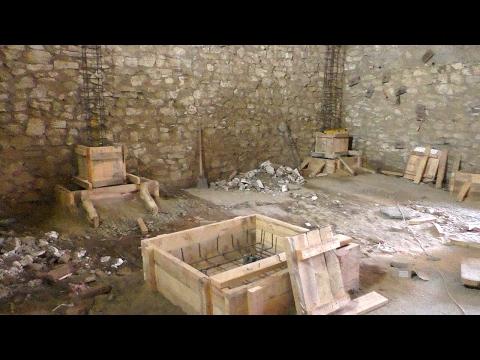 Фундамент и колонны под ребристое перекрытие (live)