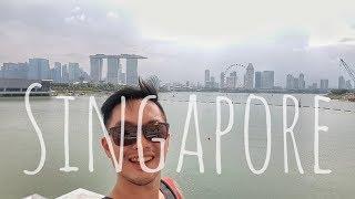SINGAPORE - Food tour vlog and Cycling Marina Bay