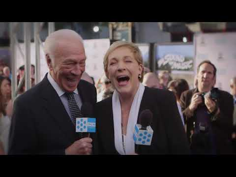 Julie Andrews And Christopher Plummer Reminisce On The Sound Of Music At The 50th Anniversary