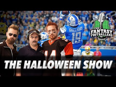 Fantasy Football 2018 - The Halloween Show, Trick-or-Trade, Players That Will Haunt You! - Ep. #640