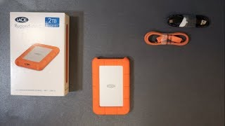 LaCie Rugged USB-C 2TB Review & Speed Test