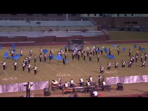 The Evans Marching Band Performs at the East Georgia Marching Festival - October 28, 2017