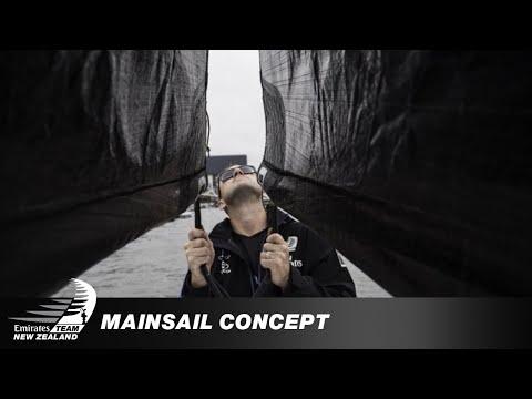Testing a concept mainsail