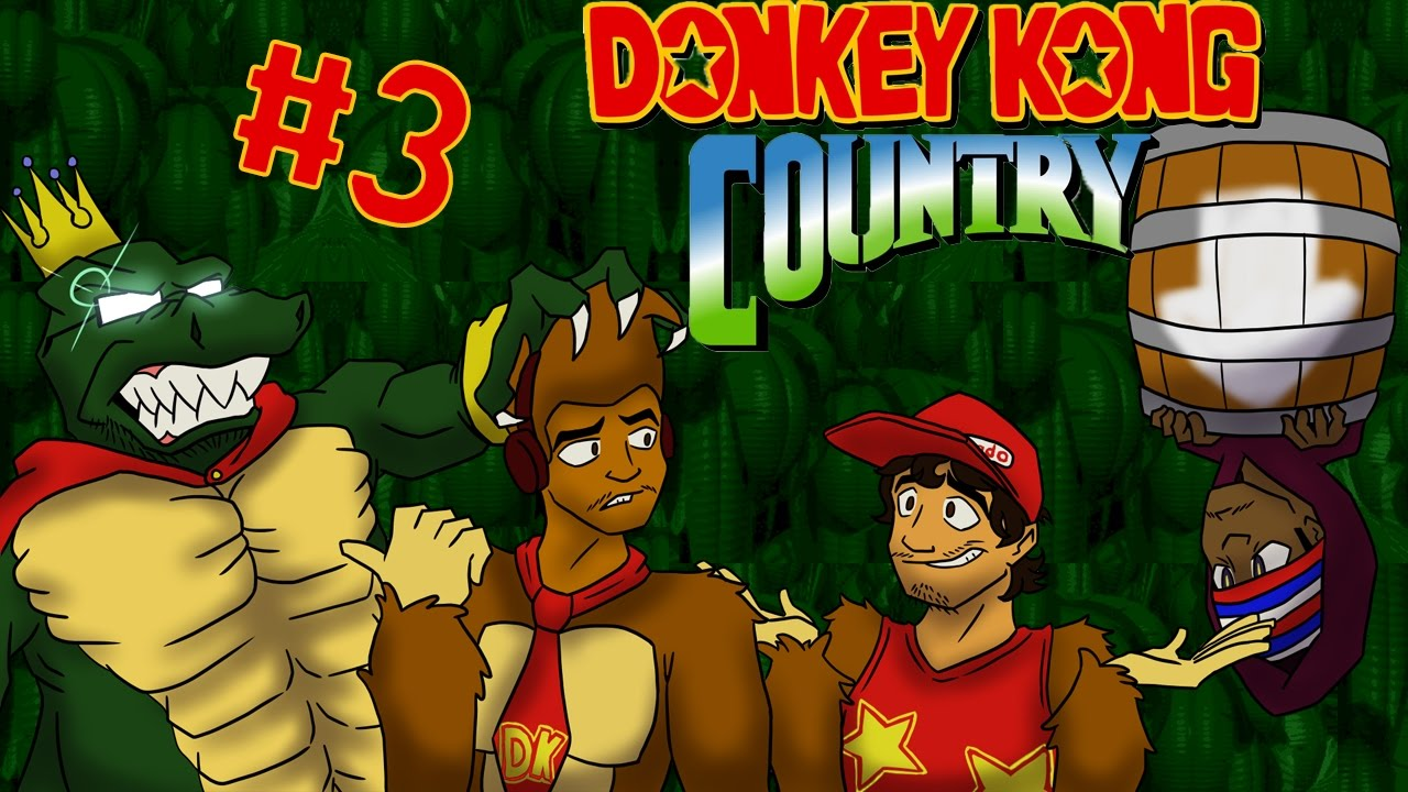 Donkey Kong Country #3 Game Over - YouTube