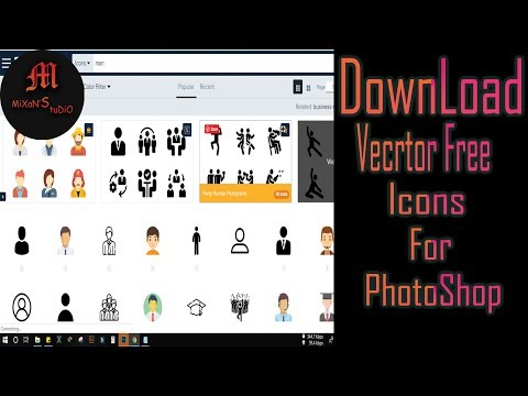 Download Free Vector Icons For Photoshop