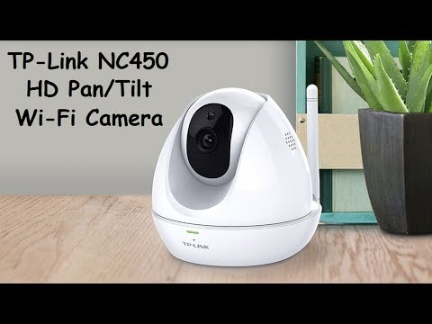 TP-Link NC450 HD Pan/Tilt Day/Night Wi-Fi Cloud Camera