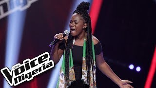 Favour Idugbe sings  'kilon popping' / Blind Auditions / The Voice Nigeria Season 2