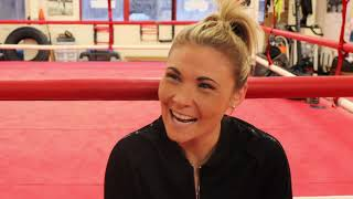 'WHEN EDDIE HEARN SAID MY NAME AS COURTENAAAY - WHO IS SHE? - SHES SOUNDS POSH' - SHANNON COURTENAY