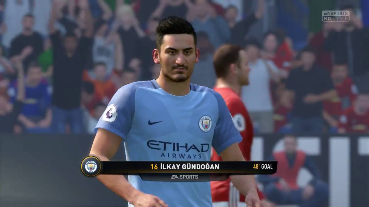GOAL by Ilkay Gundogan FIFA 17 Demo