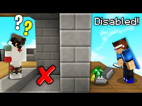 This TRICK Disables