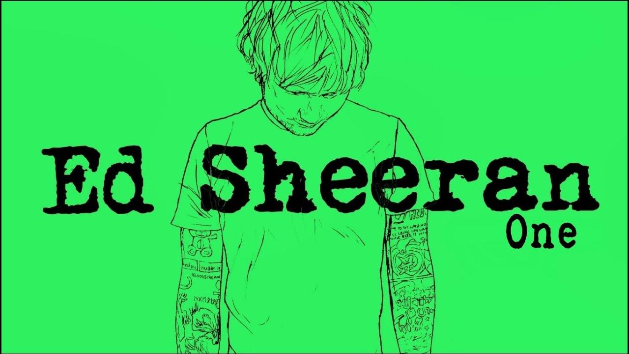 Resultado de imagen de ed sheeran  one