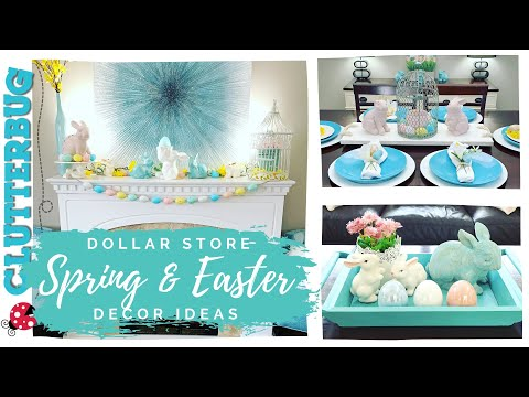 easter-and-spring-decorating-ideas-2020---dollar-store-decorate-with-me-🐰