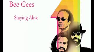 Bee Gees - Staying Alive *HQ*