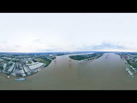 [ 360 Panorama ] Cầu Bình Khánh , Huyện Nhà Bè