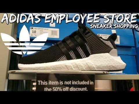 Adidas Employee Store Sneaker Shopping!