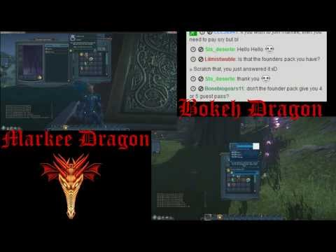 Everquest Next Landmark Dual Gameplay – Eps. 1 – With Bokeh Dragon