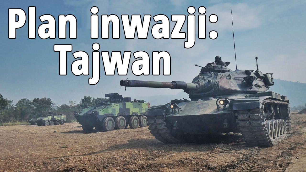 Chiński plan inwazji na Tajwan