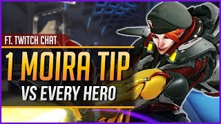1 MOIRA TIP for EVERY HERO | KarQ