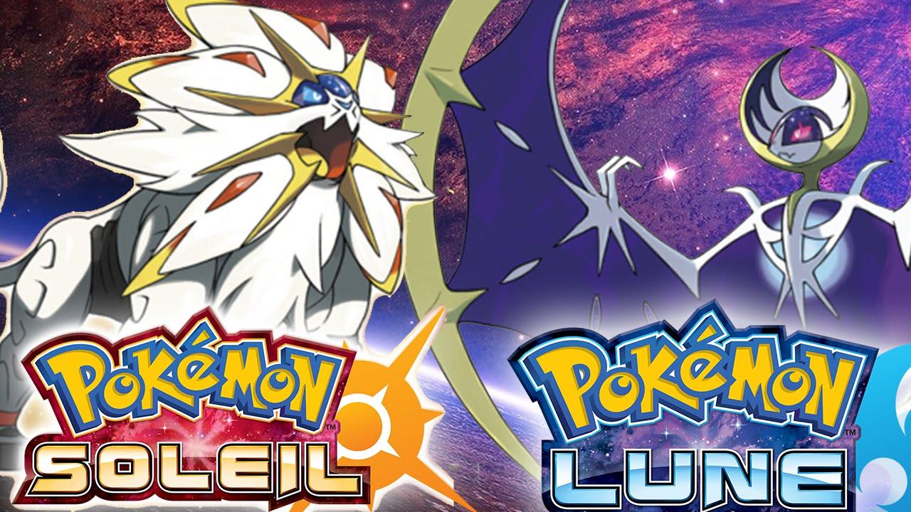 Pok mon soleil et lune starters l gendaires youtube - Coloriage pokemon lune ...