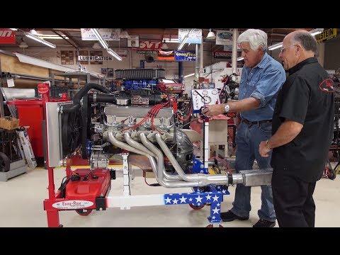 Engine Test Stands - Jay Leno's Garage