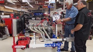 Engine Test Stands - Jay Leno's Garage