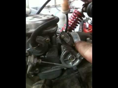 ATV REPAIR; how to fix a twister hammerhead 150 atv, go-cart, dune