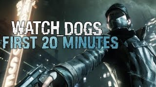 Watch Dogs First Mission - Watch Dogs First 20 Minutes - Lets Play Ep 1 (gameplay watch dogs)