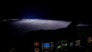Lightning from the Cockpit