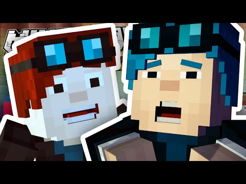 Thumbnail: Minecraft Story Mode | I'M IN THE GAME?! | Episode 6 [#1]