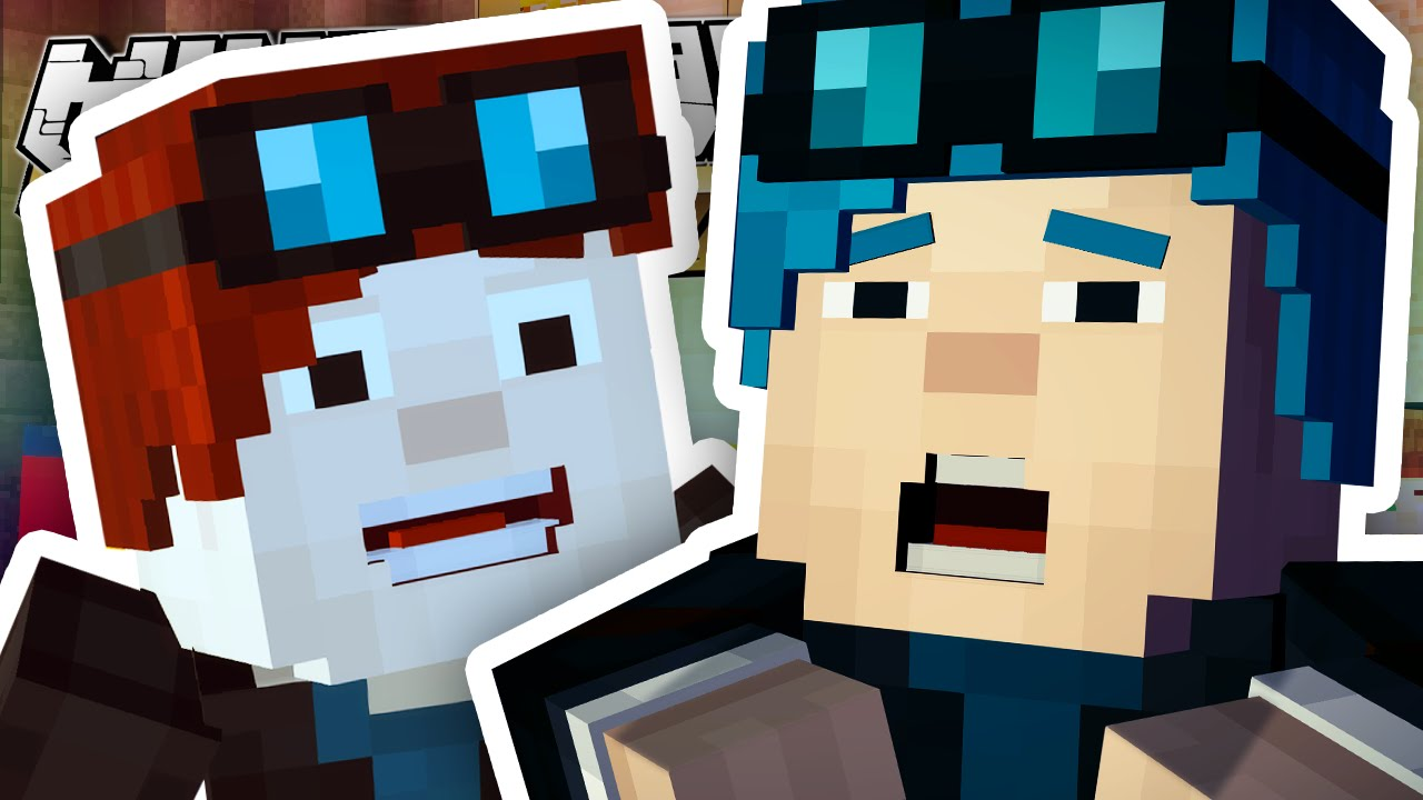 Minecraft Story Mode I M In The Game Episode 6 1 Youtube