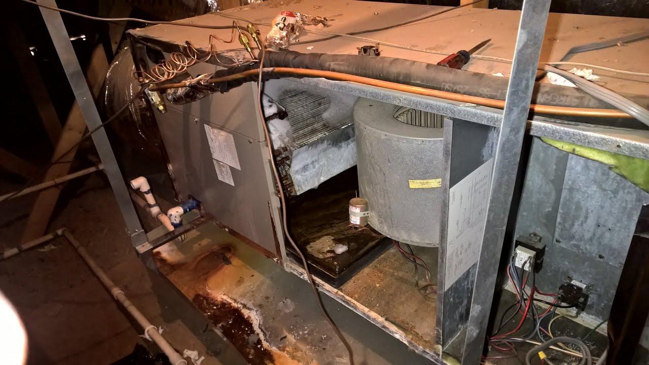 yet another failed open fan relay in a pos goodman heat pump [ 1280 x 720 Pixel ]