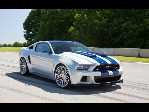 Need For Speed Movie MUSTANG Chase Music Video