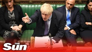 PMQs: Boris and Corbyn exchange blows over Brexit