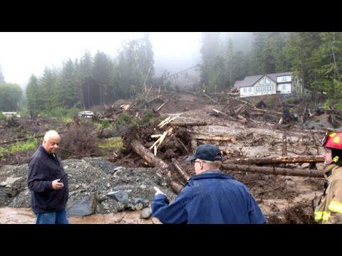 Three presumed dead in Alaska landslide