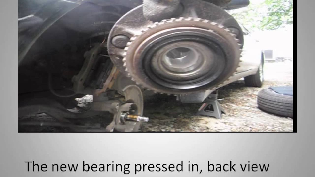 medium resolution of 97 01 infiniti q45 front wheel bearing replacement